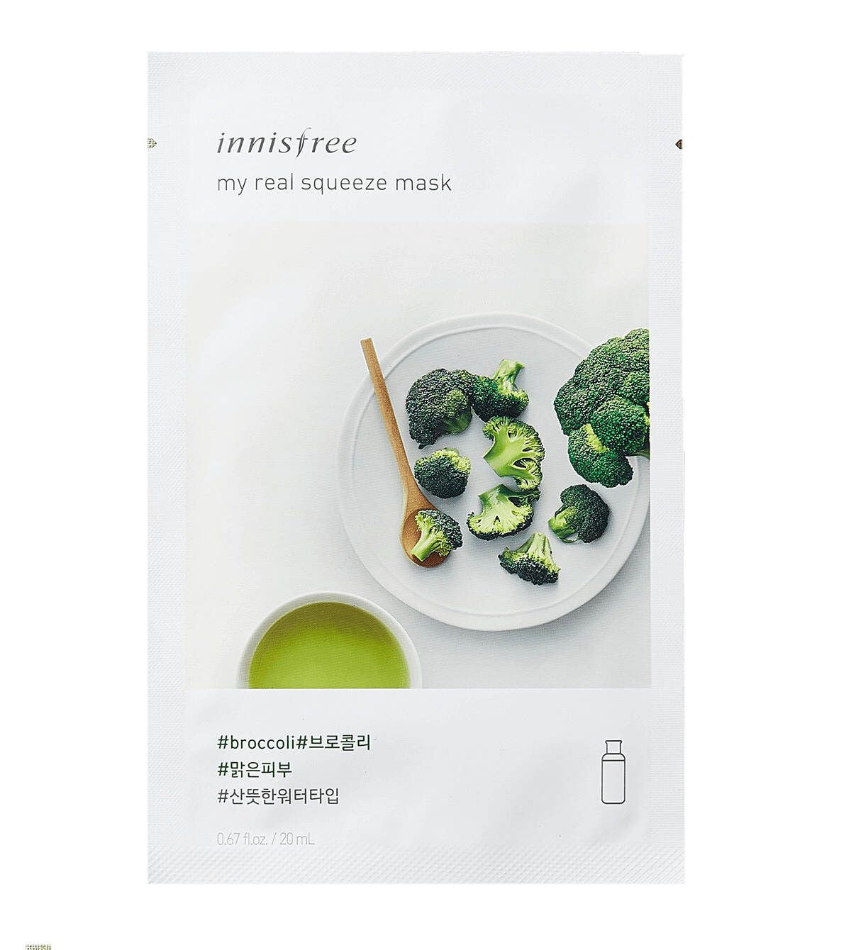 Innisfree My Real Squeeze Broccoli Mask