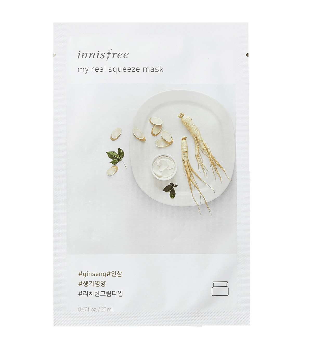 Innisfree My Real Squeeze Ginseng