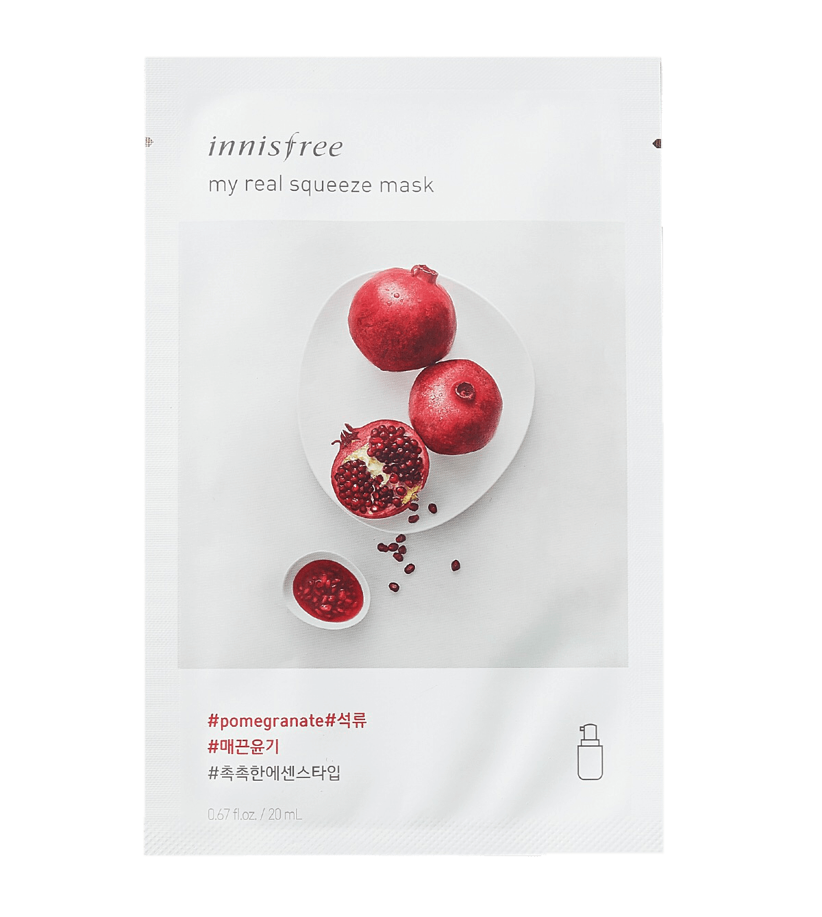 Innisfree My Real Squeeze Pomegranate