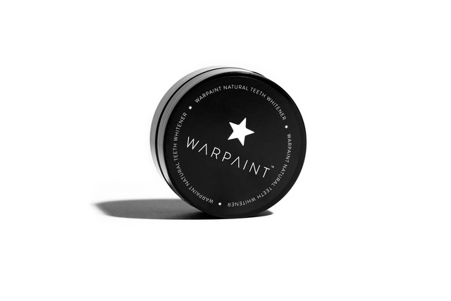 Warpaint natural charcoal teeth whitener