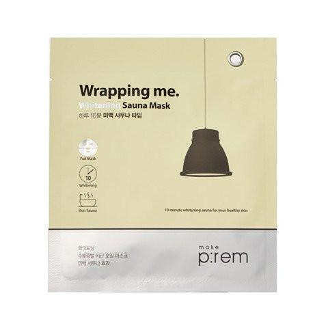 make prem whitening foil sheet mask