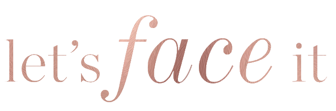 Lets Face It logo