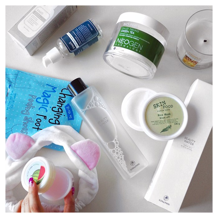 Nin Roberts' favourite korean skincare products from Let's Face It
