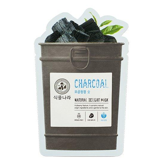 Shingmulnara Charcoal sheet mask
