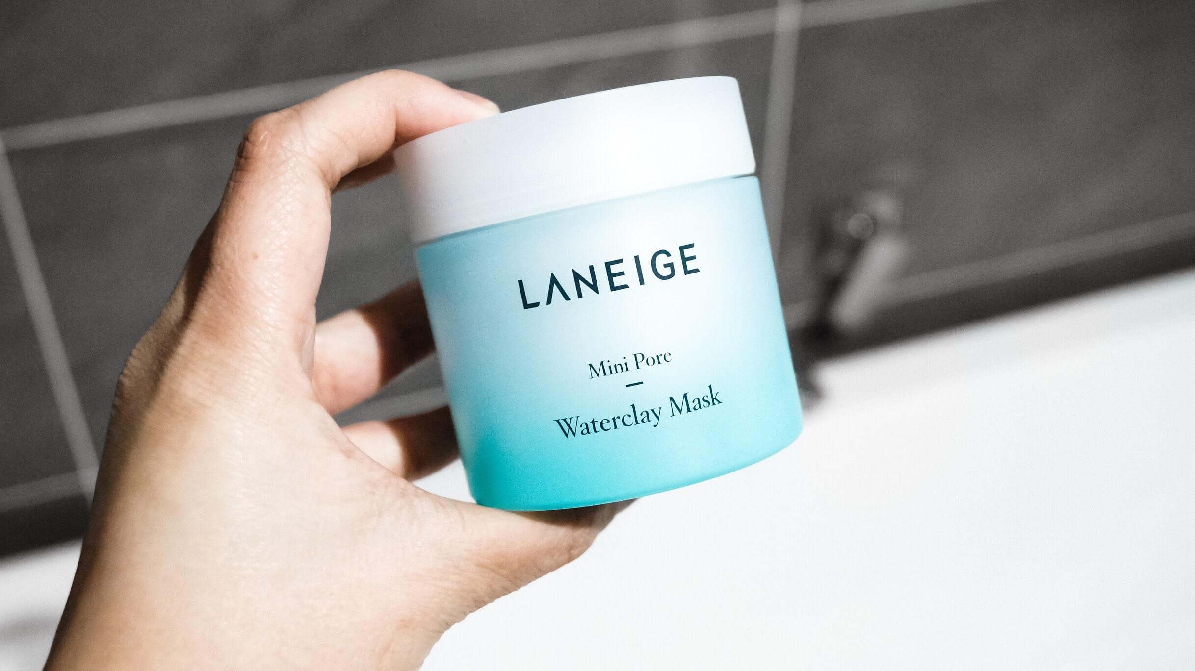 Laneige Mini Pore Waterclay Mask Review