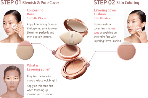 Laneige Layering Cover Cushion How To Use