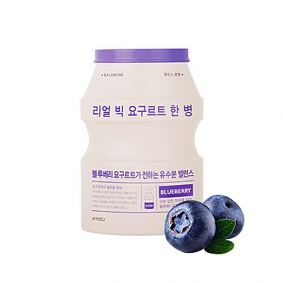 Apieu Real Big Yogurt One Bottle Blueberry