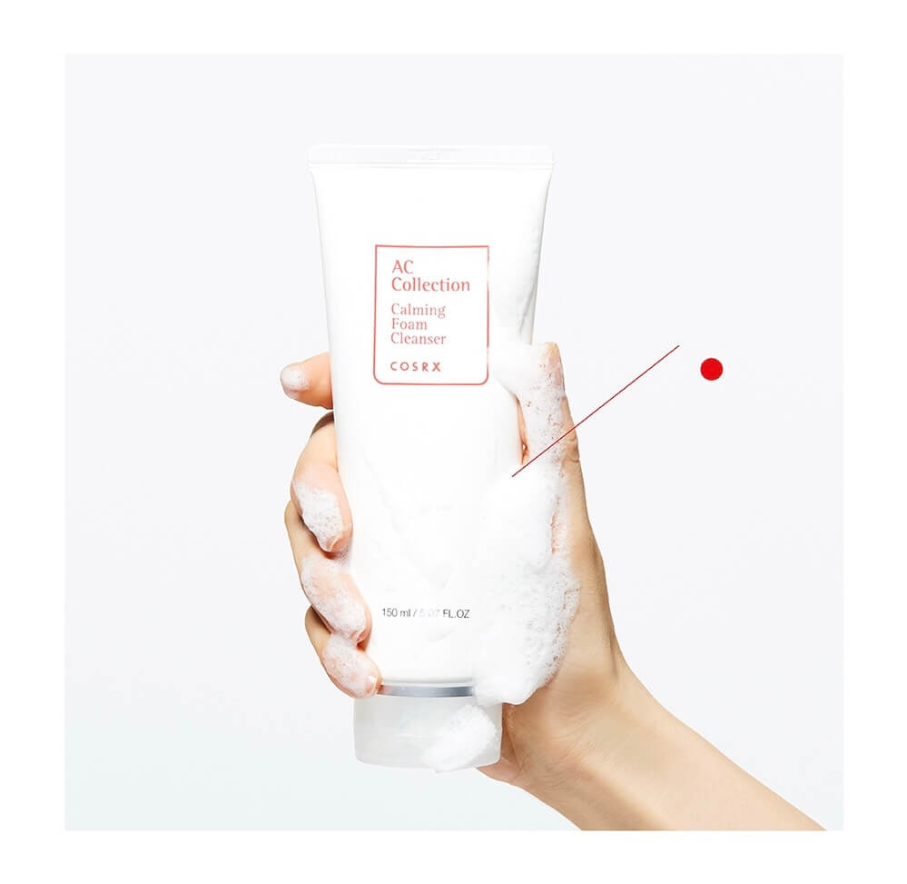 COSRX AC Collection Calming Foam Cleanser 3