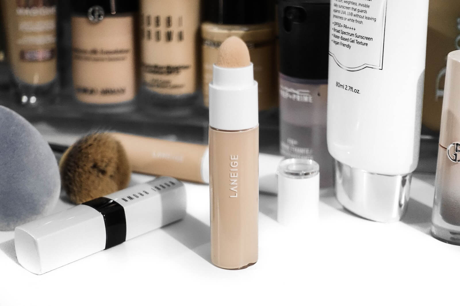 Review Laneige real cover cushion concealer
